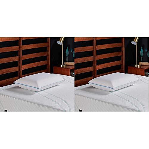 Tempur-Pedic TEMPUR-Cloud Breeze Dual Cooling Pillow, King & TEMPUR-Cloud Breeze Dual Cooling Pillow, Queen