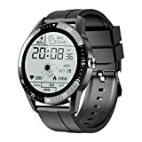 JINPXI Relojes Inteligentes Hombre Llamada Bluetooth con Pulsómetro,Podómetro,Monitor de Sueño,5...
