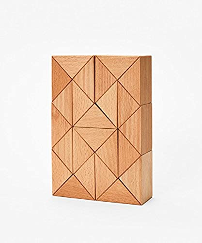 SNAKE BLOCKS natur   3D HOLZ-PUZZLE - Large