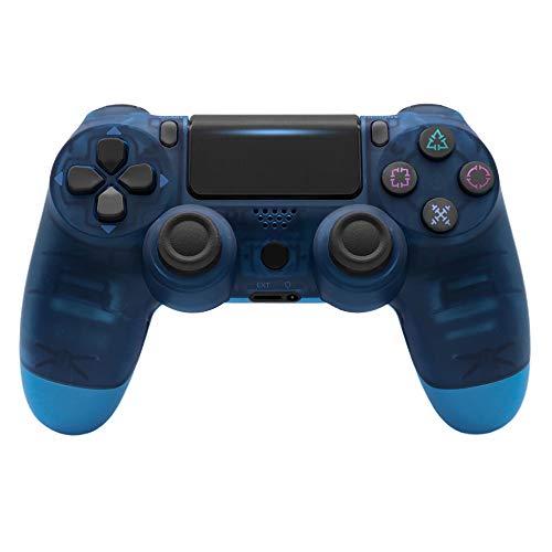 TEZAI Kabelloser Gamecontroller, Ps4-Controller, Kabelloser Controller Bluetooth 4.0-Spielekonsole 4 Dual Joystick Joystick Gamepad