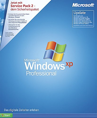 Windows XP Professional Update Academic Edition inkl. Service Pack 2 (PC)