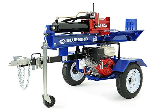 For Sale! Bluebird Turf Products LS34H Log Splitter, Blue
