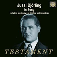 Jussi Bjorling in Song