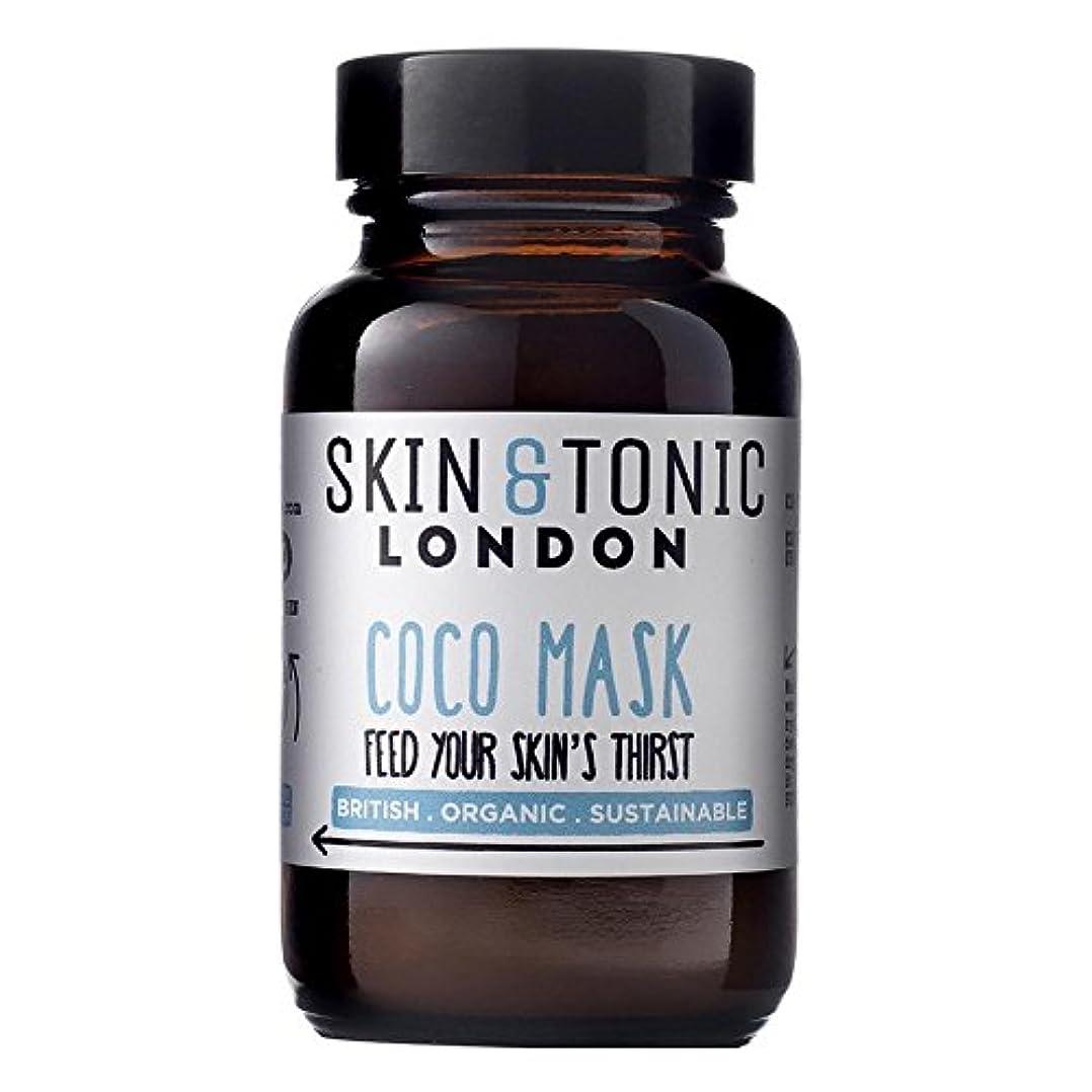 凍る冷笑する侵入スキン&トニックロンドンココマスク50グラム x2 - Skin & Tonic London Coco Mask 50g (Pack of 2) [並行輸入品]