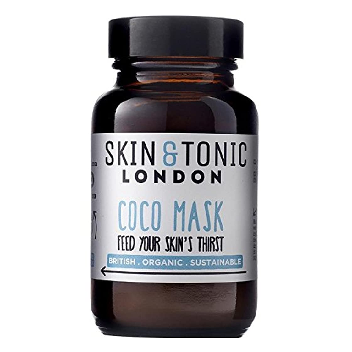 ウイルスアプローチ不適切なスキン&トニックロンドンココマスク50グラム x2 - Skin & Tonic London Coco Mask 50g (Pack of 2) [並行輸入品]