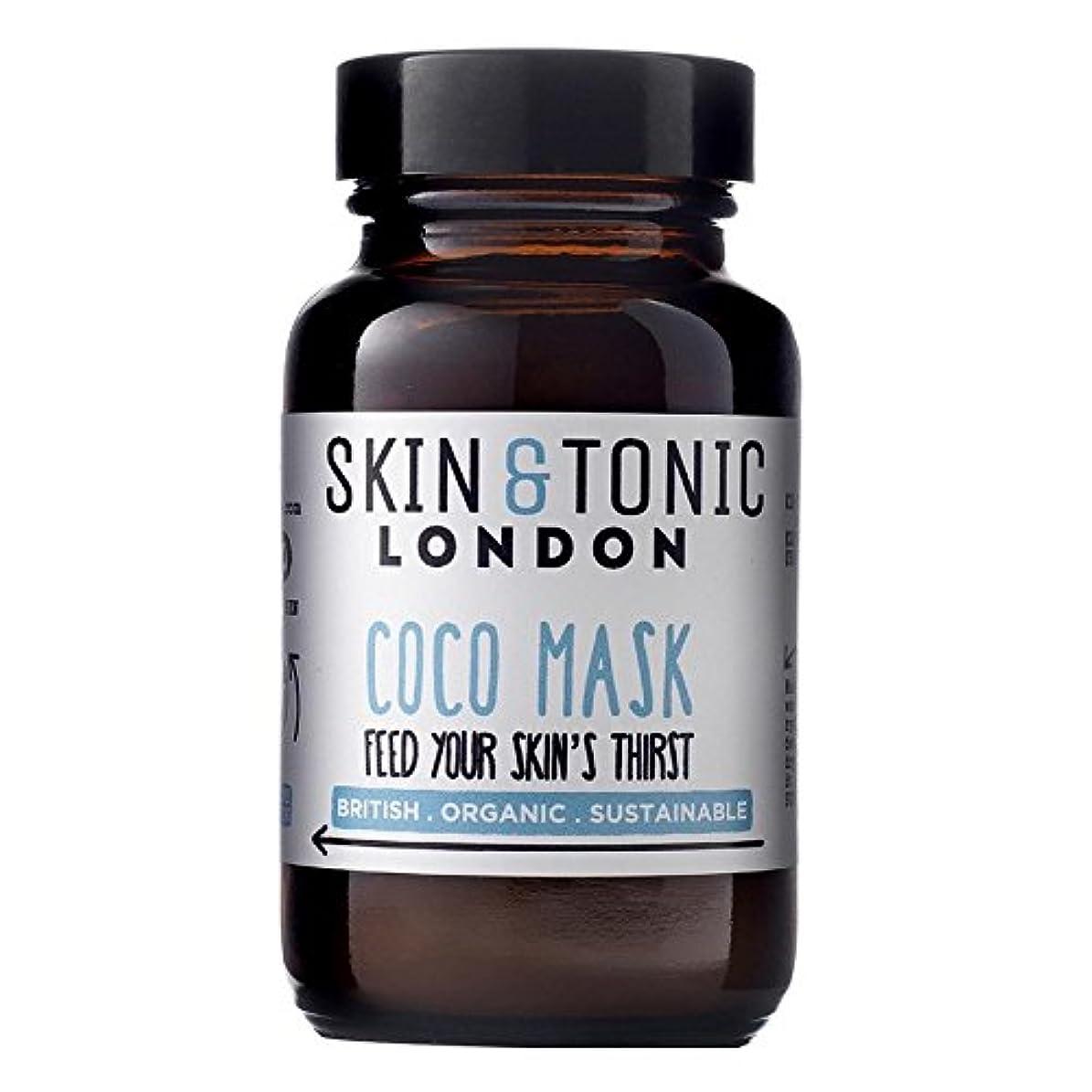 雹特権的アルコールスキン&トニックロンドンココマスク50グラム x4 - Skin & Tonic London Coco Mask 50g (Pack of 4) [並行輸入品]