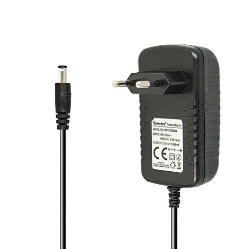 kj-vertrieb 12V Netzteil Ladegerät kompatibel mit Bose SoundLink Mini 1 und Bose SoundDock XT Wireless Bluetooth Lautsprecher - Portable Speaker Ladekabel, passt 359037-13