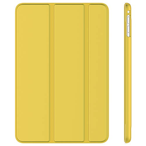 JETech Case for iPad mini 5 (2019 Model 5th Generation), Smart Cover with Auto Sleep/Wake (Yellow)