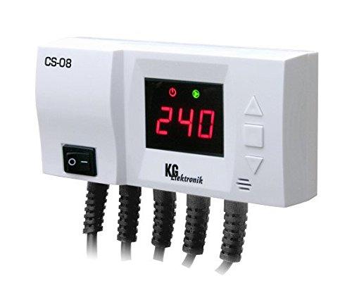 KG Elektronik - CS-08 Heizkreis- und Warmwasser/Pufferspiecher Regelung