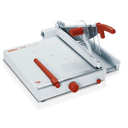 Ideal 1038 Schneidemaschine, Hebelschneider, Papierschneider (356 x 403 mm, Schnittlänge 385 mm, 50 Blatt Kapazität)