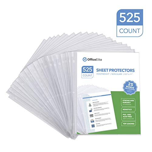Archival Recycled Sheet Protector - 6