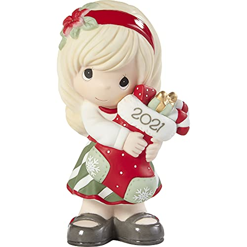Precious Moments You Fill Me with Christmas Cheer Dated Girl Figurine...