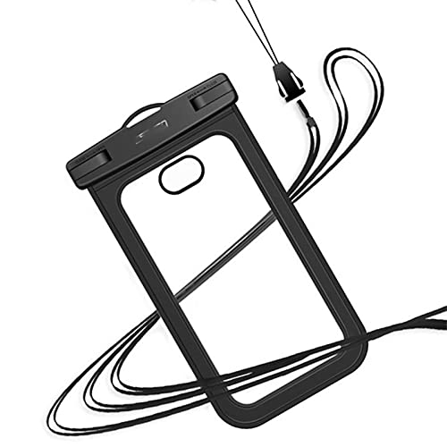 CZWNB Resbalón del Teléfono a Prueba de Agua, Bolsa De Teléfono Móvil Impermeable Universal Bolsa De Teléfono Móvil Cubierta Protectora