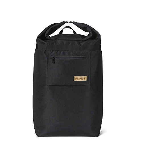 Primus Men's P-740750 Cooler Backpack Roll top w/Bottle Opener Buckle, Black, One Size