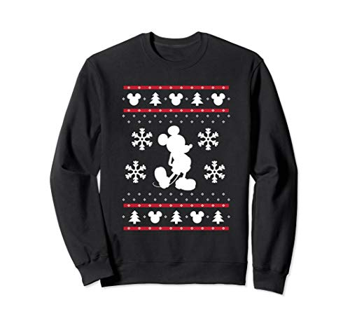 Mens Disney Mickey Mouse Christmas Sweaters