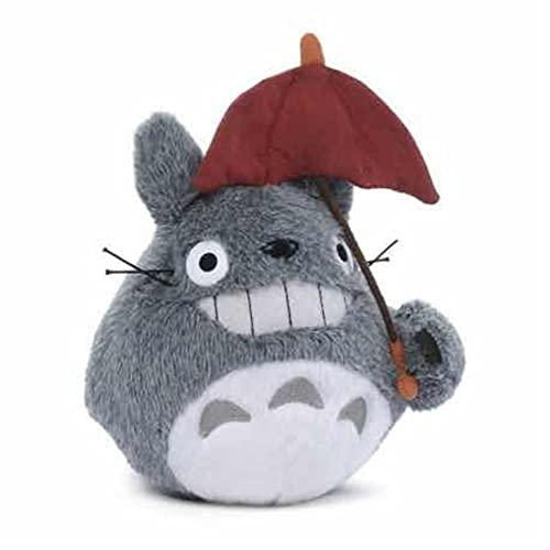 Semic Plüsch Totoro mit Regenschirm 15Cm, Kunststoff, Mehrfarbig