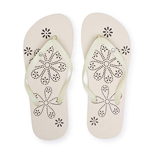Montse Interiors, S.L. Chanclas Flip Flop Playa y Piscina para Mujer o Chica (40 EU, Glitter)