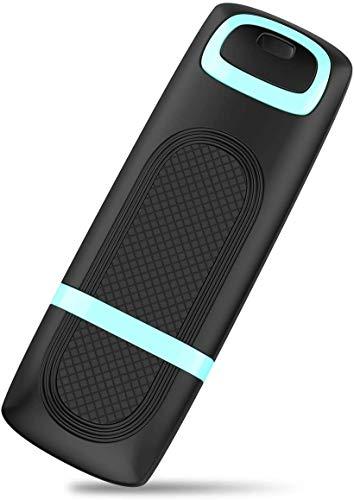 Chiavetta USB 3.0 da 128GB, Vansuny Pendrive USB 3.0 128 GB, Chiave USB 3.0, Penna USB con Cappuccio, Memoria USB ad Alta Velocità, Unità Flash USB per Laptop PC, Pennetta USB 3.0 Ciano