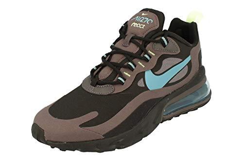 Nike Air MAX 270 React, Zapatillas Deportivas para Hombre, Negro