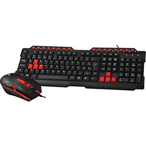 Teclado e Mouse kit Gamer Com Fio Gk-20 C3tech