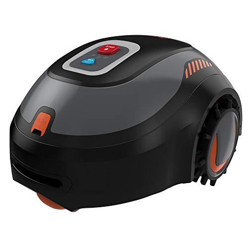 BLACK+DECKER BCRMW121-QW Robot Cortacésped gama básica con una batería 12V 4,3Ah Litio. Para 500m2