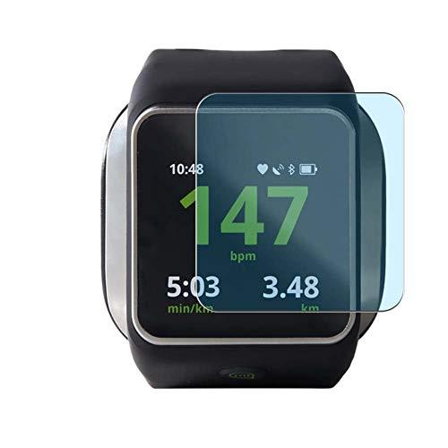 Vaxson 3 Unidades Protector de Pantalla Anti Luz Azul, compatible con Adidas MiCoach Smart Run smartwatch Smart Watch [No Vidrio Templado] TPU Película Protectora