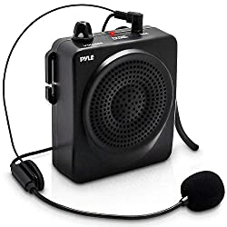 Pyle Pro Voice Amplifier and Wireless Headset