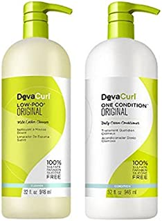 DevaCurl Low-Poo Original & One Condition Original Duo - 32 oz