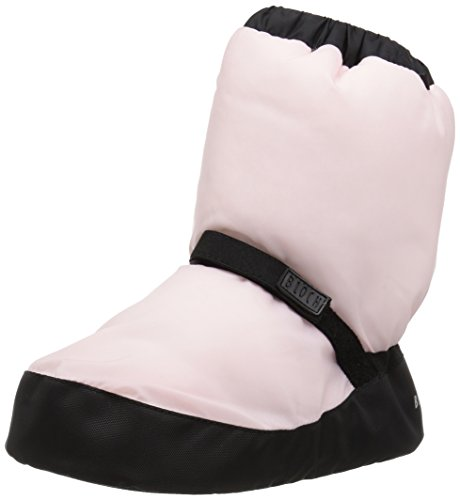 Bloch Girls Bootie Warm Up Boot/Slipper, Candy Pink, Large