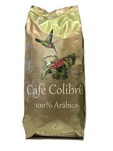 CAFÉ COLIBRI en Grano Natural Arábica 100% SELECCIÓN ESPECIAL (10 orígenes) (Tostado artesanal) (1kg), Gourmet, Origen Brasil, Colombia, Kenia, Etiopia, Guatemala, Costa Rica y Papua