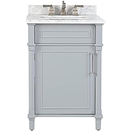 Home Decorators Collection Aberdeen 24 Single Bath Vanity 34 5 Hx24 Wx20 D Dove Grey Amazon Com