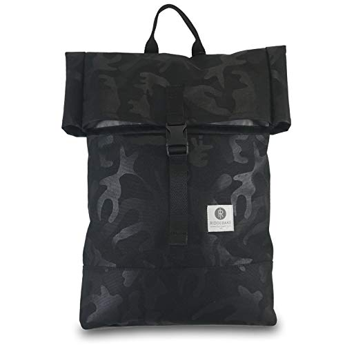 Postal 2 Black Camo Rucksack, 10 Liter Volumen, Black