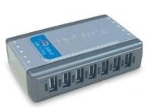 D-Link DUB-H7/B - USB 2.0 7PORT HUB - 7X A-PORT/1X B-PORT CABLE