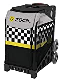 ZUCA Sk8ter Block Sport Bag and Black Frame with Flashing Wheels