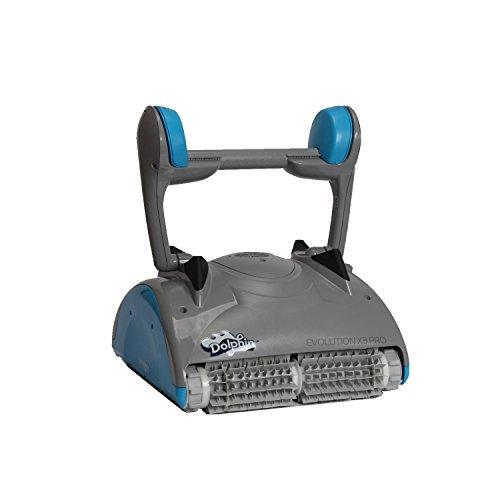 08087Pool Robot Dolphin Evolution X3Pro con cepillos de PVC