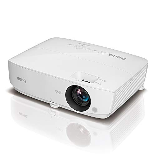 BenQ MH535 Full HD Projektor (mit hoher Helligkeit von 3.500 ANSI Lumen, flexibler Aufstellung und 2 HDMI-Anschlüssen für Wohnzimmer und Meetingräume)
