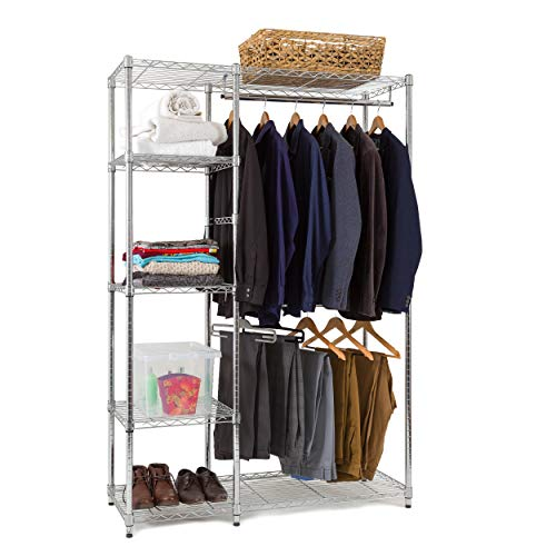 Chrome Heavy Duty Clothes Storage System