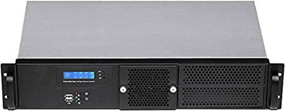 Mini ITX PLINKUSA RACKBUY 1U No System and Case Only ITX-102/_SS-250SU 9.84 Deep Rackmount Chassis 3.5 or 2 x 2.5 HDD Bay Seasonic 80+ 250WPSU Customize 1U IO Shield