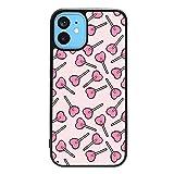 Indie Kids Coque de protection pour téléphone portable Motif sucette sur couleurs Aesthetic Cool...