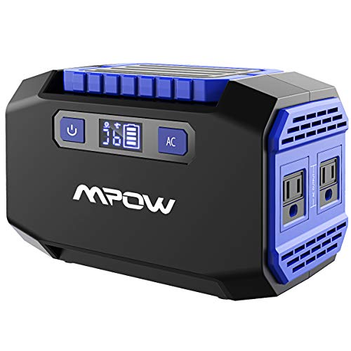 OMORC Mpow Portable Power Station 167Wh 45000mAh Portable Power Supply Lithium Battery Backup with 2 AC Outlets(250W Peak),2 USB &3 DC Ports Rechargeable Solar Camping Generators for Emergence CPAP