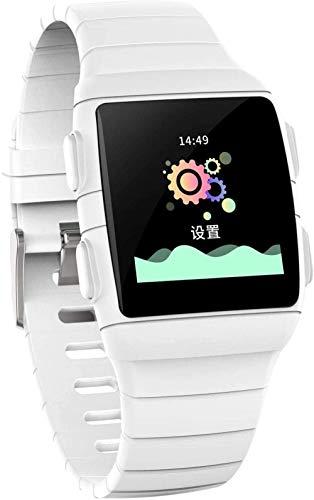 Gymqian Reloj Inteligente, Ips de 1.3 Pulgadas Súper Deslumbrante Pantalla Grande Ip68, Impermeable Y Super Batería, Pulsera Inteligente con Siete Modos Deportivos-Negro Regalo de v