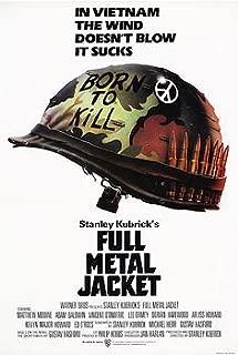 (27x40) Full Metal Jacket - Helmet Movie Poster