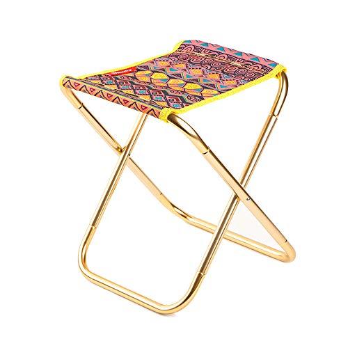 WANGLXfc vouwstoel, compacte eenvoudige opslag, opvouwbare stoel, buiten, vissen, festival, strand, camping, kamp, picknick, wandelen, lichtgewicht draagbaar