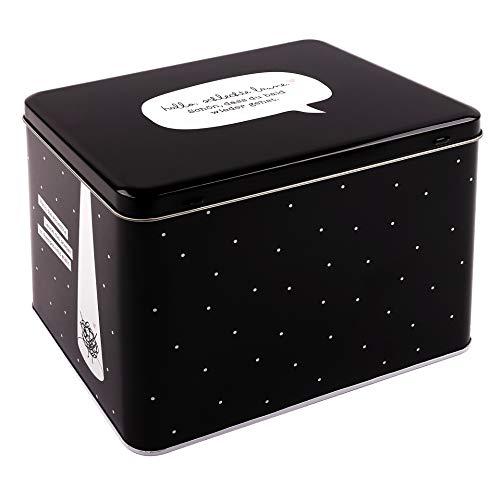 Odernichtoderdoch Aufbewahrungsbox Für schlechte Tage - Metallkiste für Deine liebsten Gegenstände - 16,5 cm x 16,5 cm x 22,5 cm
