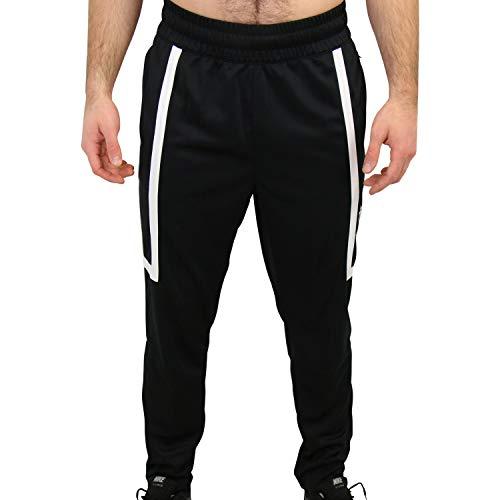 NIKE M NSW Air Pant PK, Hombre, Black/White/Black/White, S