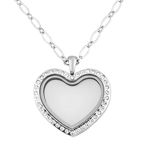 top 10 floating glass lockets Shiny Jewelry Living Memory Glass Rocket Necklace Pendant for Floating Charm