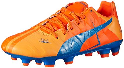 PUMA Evopower 3 H2H FG JR Soccer Shoe (Little Kid/Big Kid) ,...