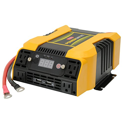 PowerDrive PD1500 1500 Watt Power Inverter with Bluetooth