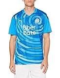 PUMA Om Third Shirt Replica with Sponsor Camiseta, Hombre, Bleu Azur/Vallarta Blue, XL