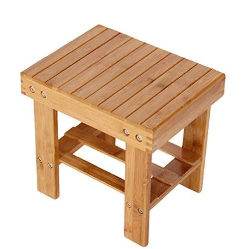 Nsjfkdd Chinese Classic Houten Ronde Kruk paulowniahout Kleine Aziatische Home Meubels Rechthoekige Krukken Kleine Houten Bank Garden Child Little Chair Small Bench Sofa